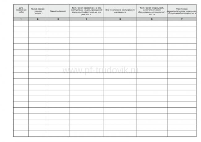 образец журнал регистрации проектной документации - фото 4